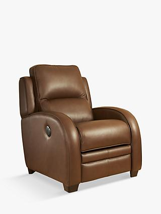 Charleston Range, Parker Knoll Charleston Power Recliner Leather Armchair