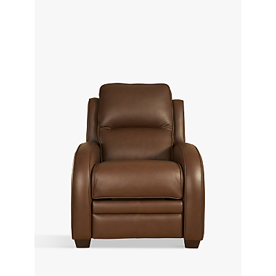 Parker Knoll Charleston Power Recliner Leather Armchair, Como Oak
