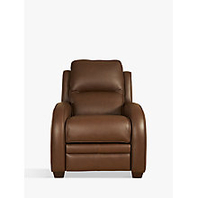 Buy Parker Knoll Charleston Power Recliner Leather Armchair, Como Oak Online at johnlewis.com