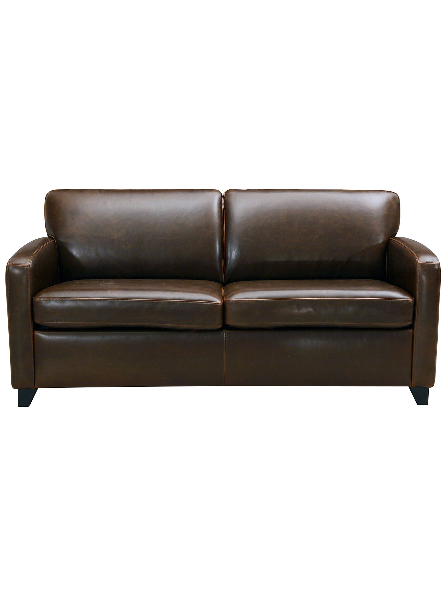 John Lewis Colby Small Pu Leather Sofa