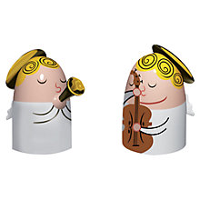 Buy Alessi Angel Band 1 Nativity Figures Christmas Decorations Online at johnlewis.com