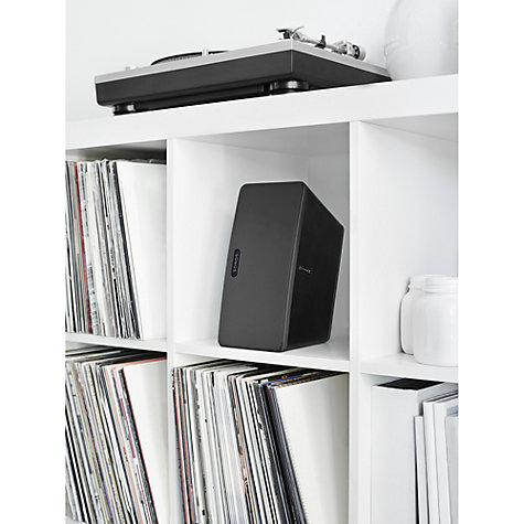 Buy Sonos PLAY:3 Wireless Music System, Black Online at johnlewis.com
