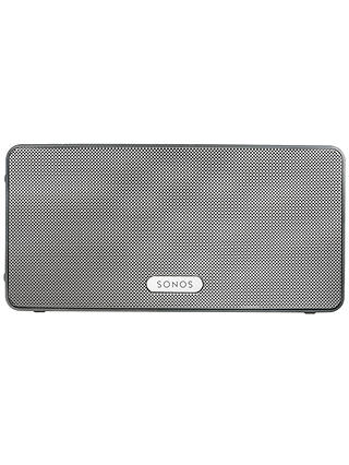 Buy Sonos PLAY:3 Smart Speaker, White Online at johnlewis.com