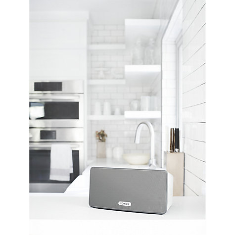 Buy Sonos PLAY:3 Smart Speaker Online at johnlewis.com