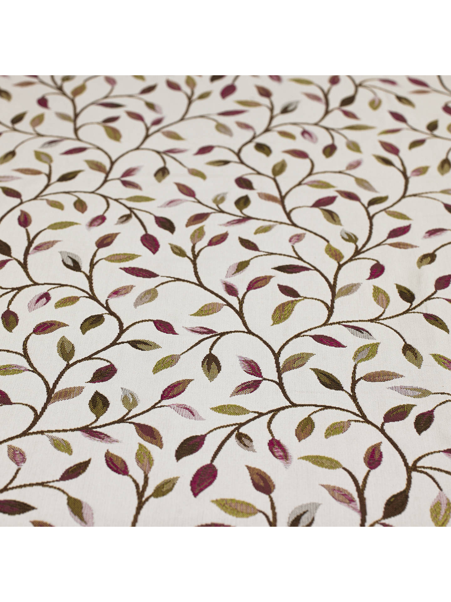 Buy Voyage Cervino Furnishing Fabric, Damson Online at johnlewis.com
