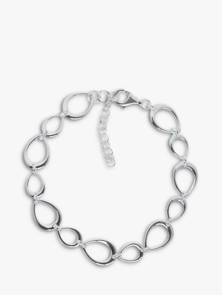 john lewis Discontinued Ray Bans buy nina breddal open teardrop link bracelet silver online at johnlewis