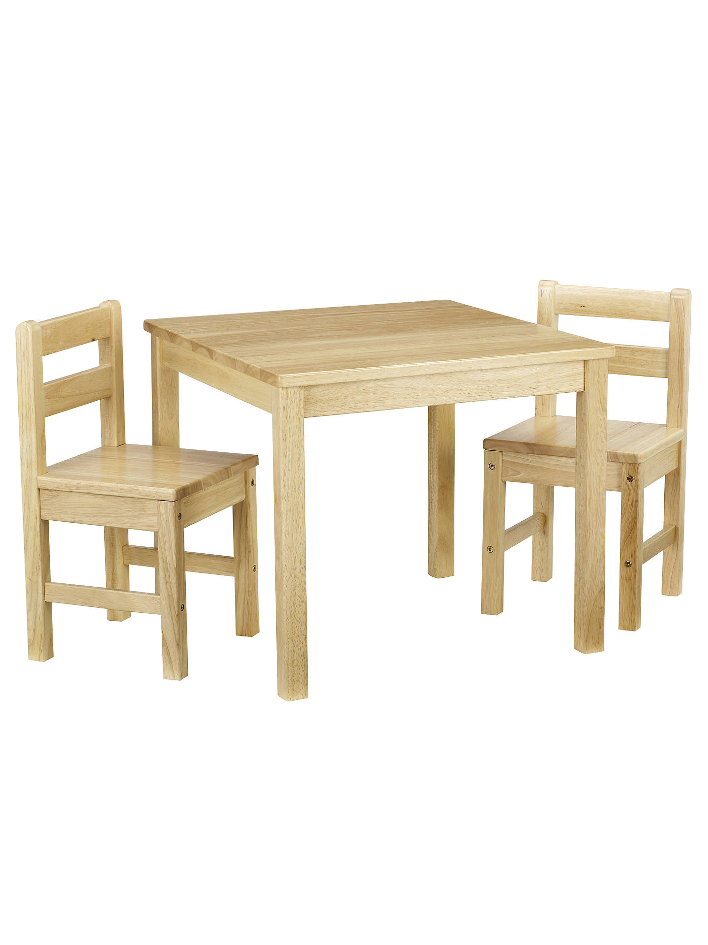 john lewis classic table and chairs natural at john lewis