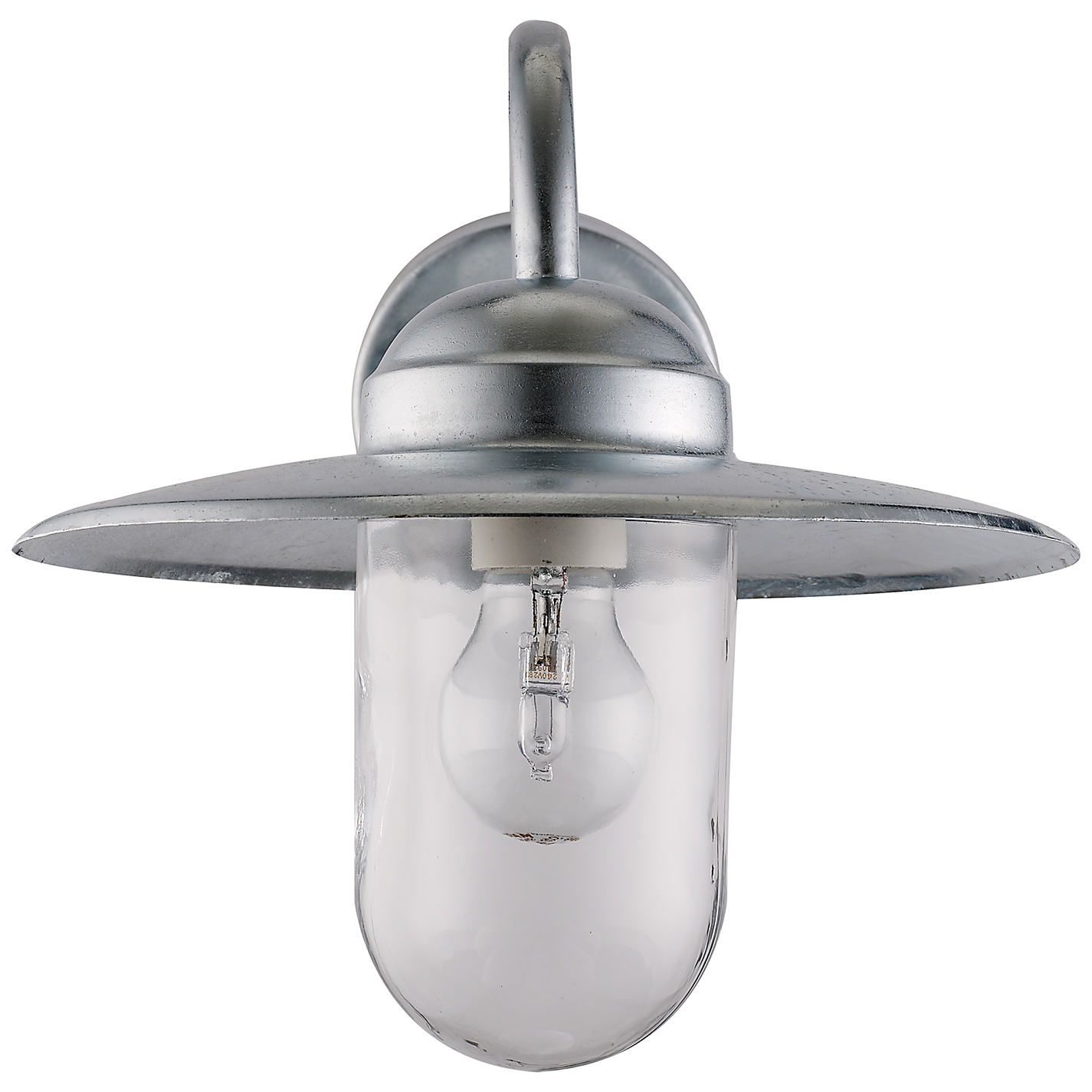 Buy Nordlux Luxembourg Outdoor Wall Light With PIR Sensor, Galvanised Steel  Online At Johnlewis.
