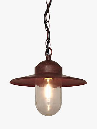 Nordlux Luxembourg Outdoor Pendant, 'Weathered' Finish