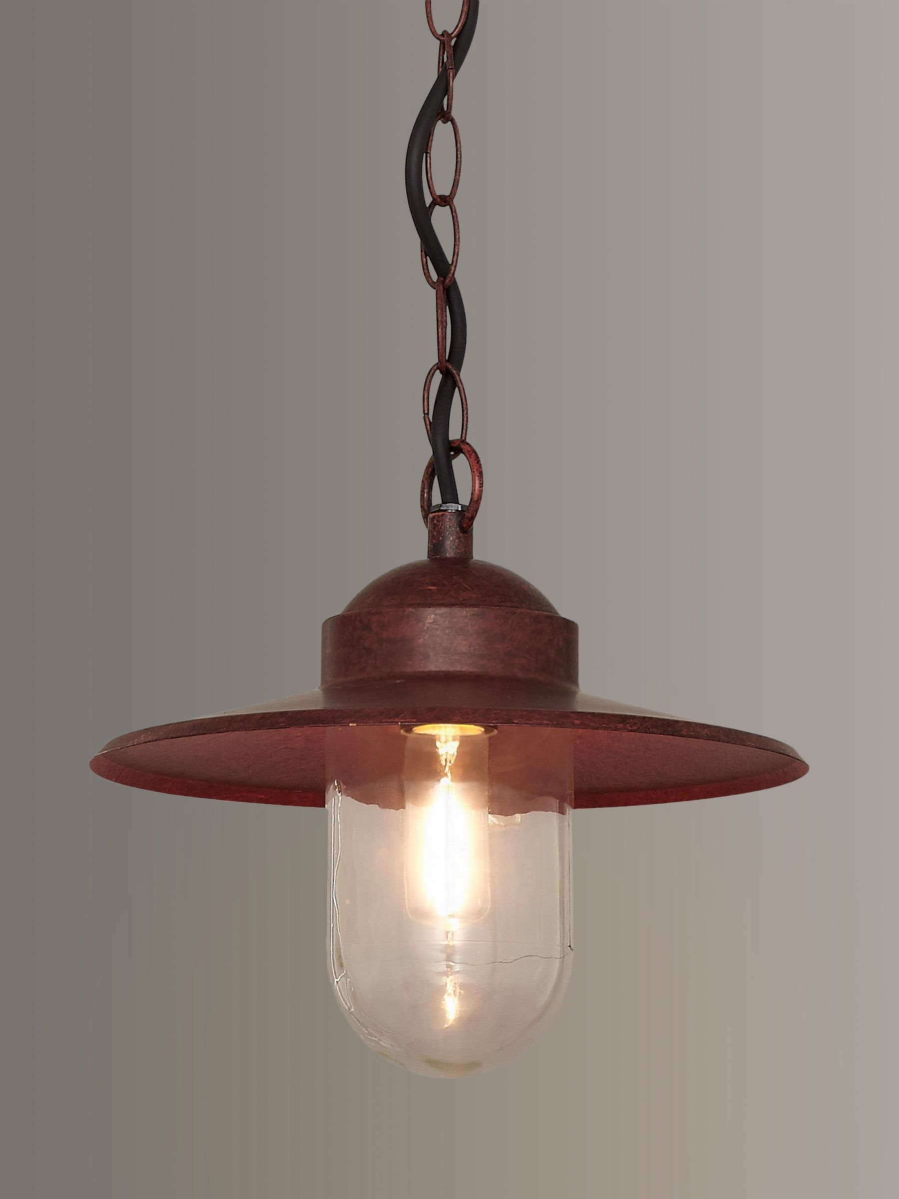 Nordlux Nordlux Luxembourg Outdoor Pendant, 'Weathered' Finish