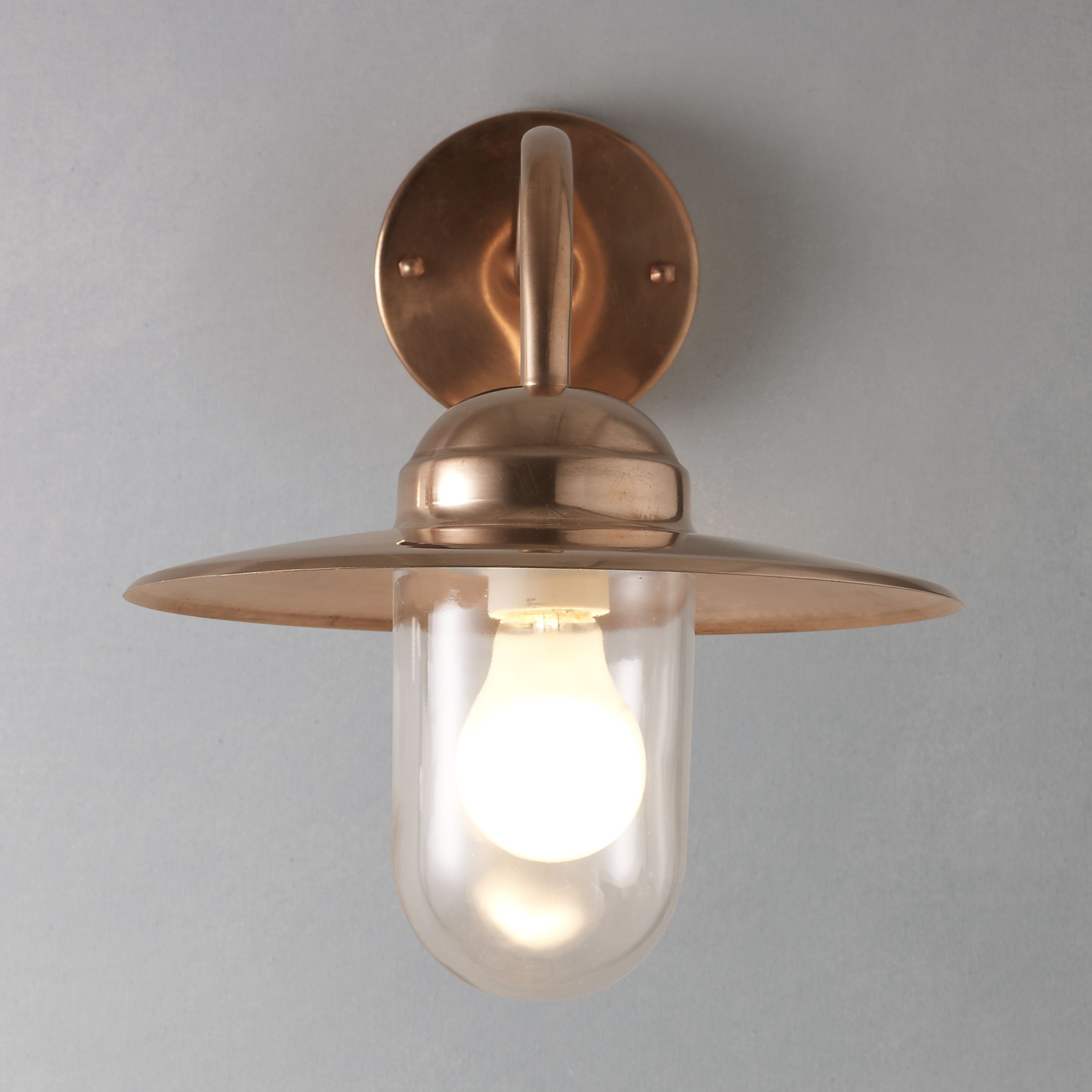 Nordlux Nordlux Luxembourg Outdoor Wall Light, Copper