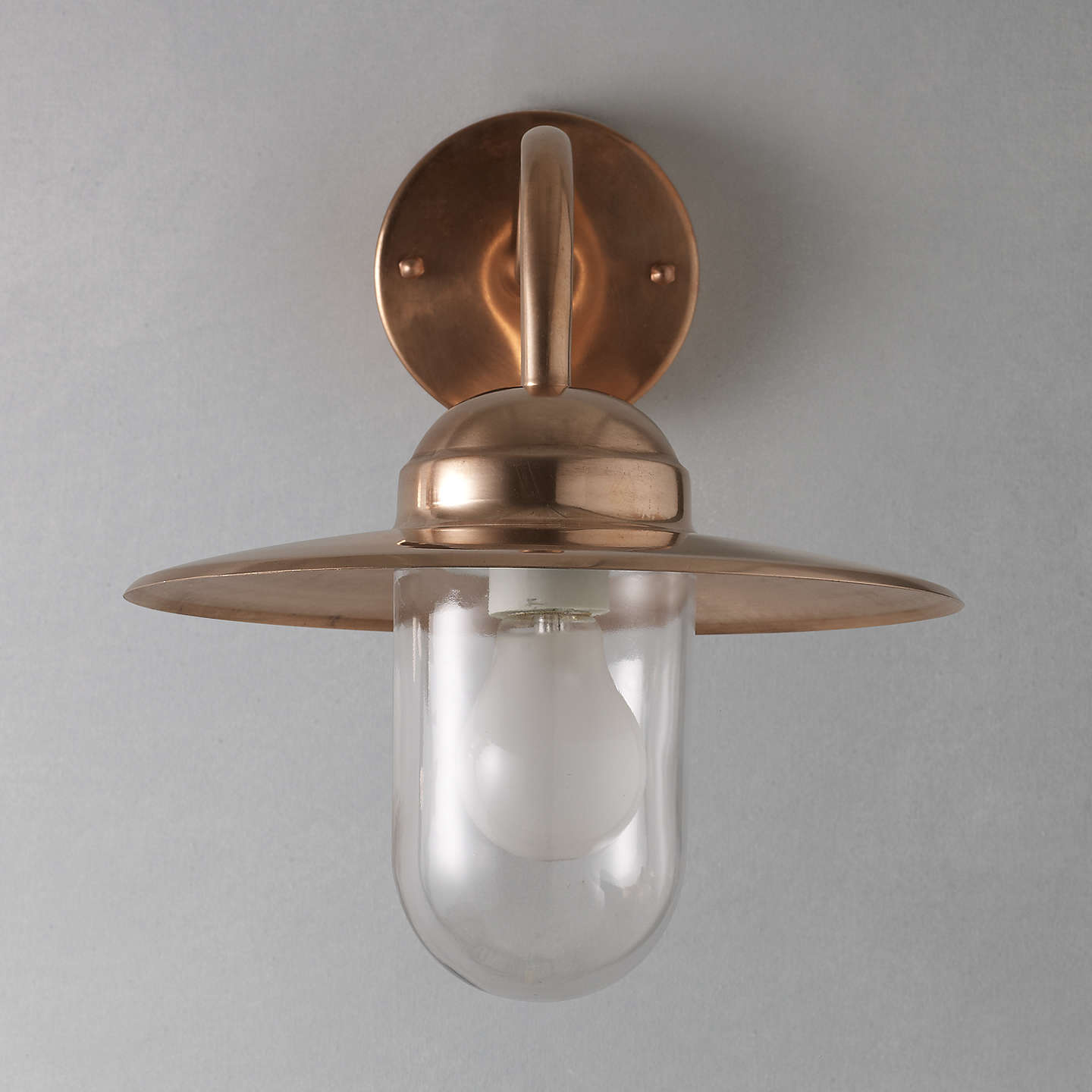 Nordlux luxembourg outdoor wall light at john lewis buynordlux luxembourg outdoor wall light copper online at johnlewis aloadofball Choice Image