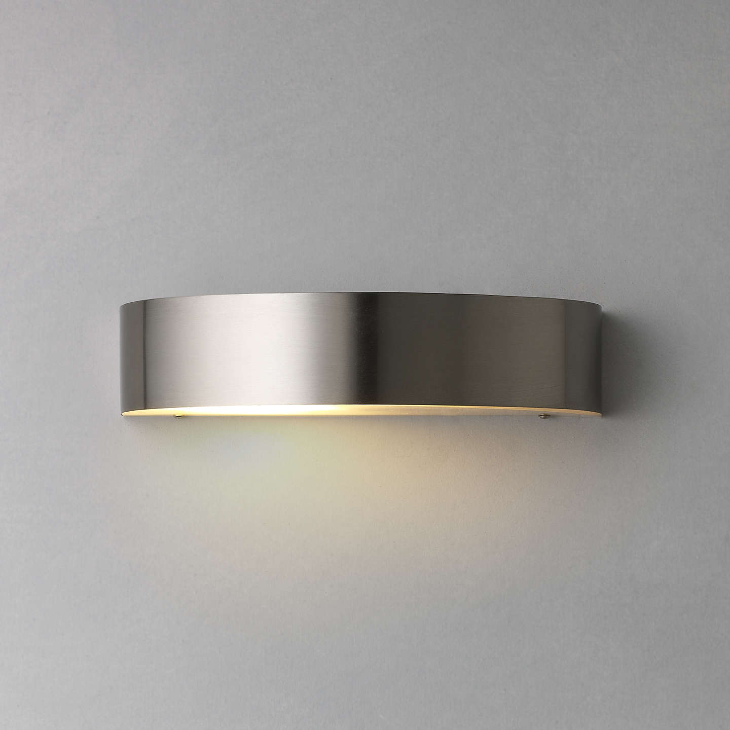 Outdoor Wall Lights John Lewis: Nordlux Arc Outdoor Wall Light, Stainless Steel At John Lewis