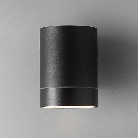contemporary outside wall lights uk. buy nordlux tin maxi outdoor wall light, black online at johnlewis.com contemporary outside lights uk e