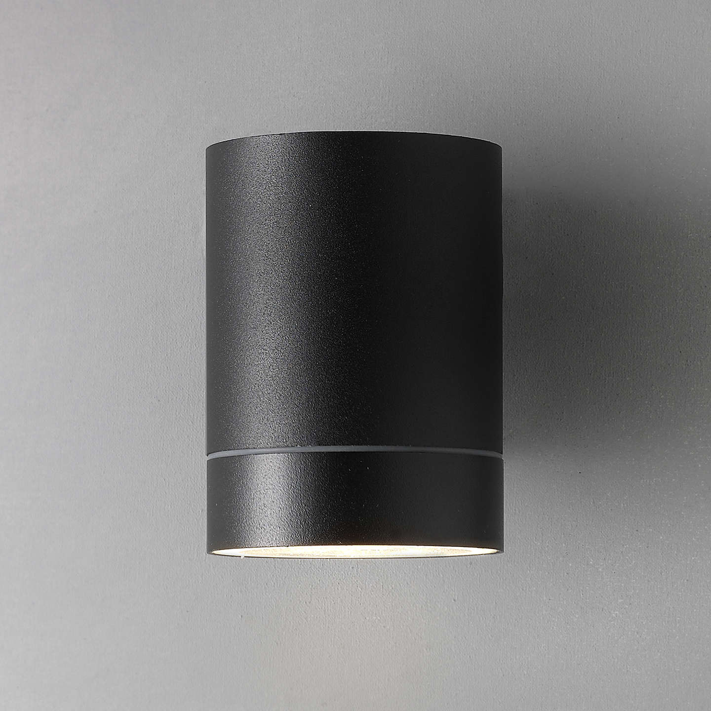 Nordlux tin maxi outdoor wall light black at john lewis buynordlux tin maxi outdoor wall light black online at johnlewis mozeypictures Image collections