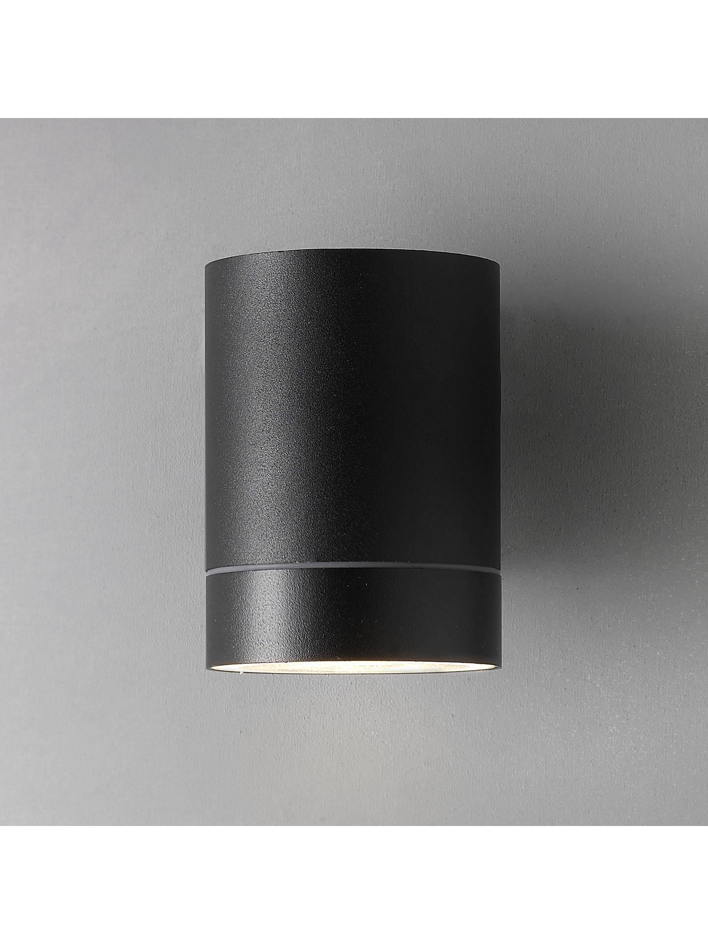 Nordlux Tin Maxi Outdoor Wall Light Black At John Lewis Partners