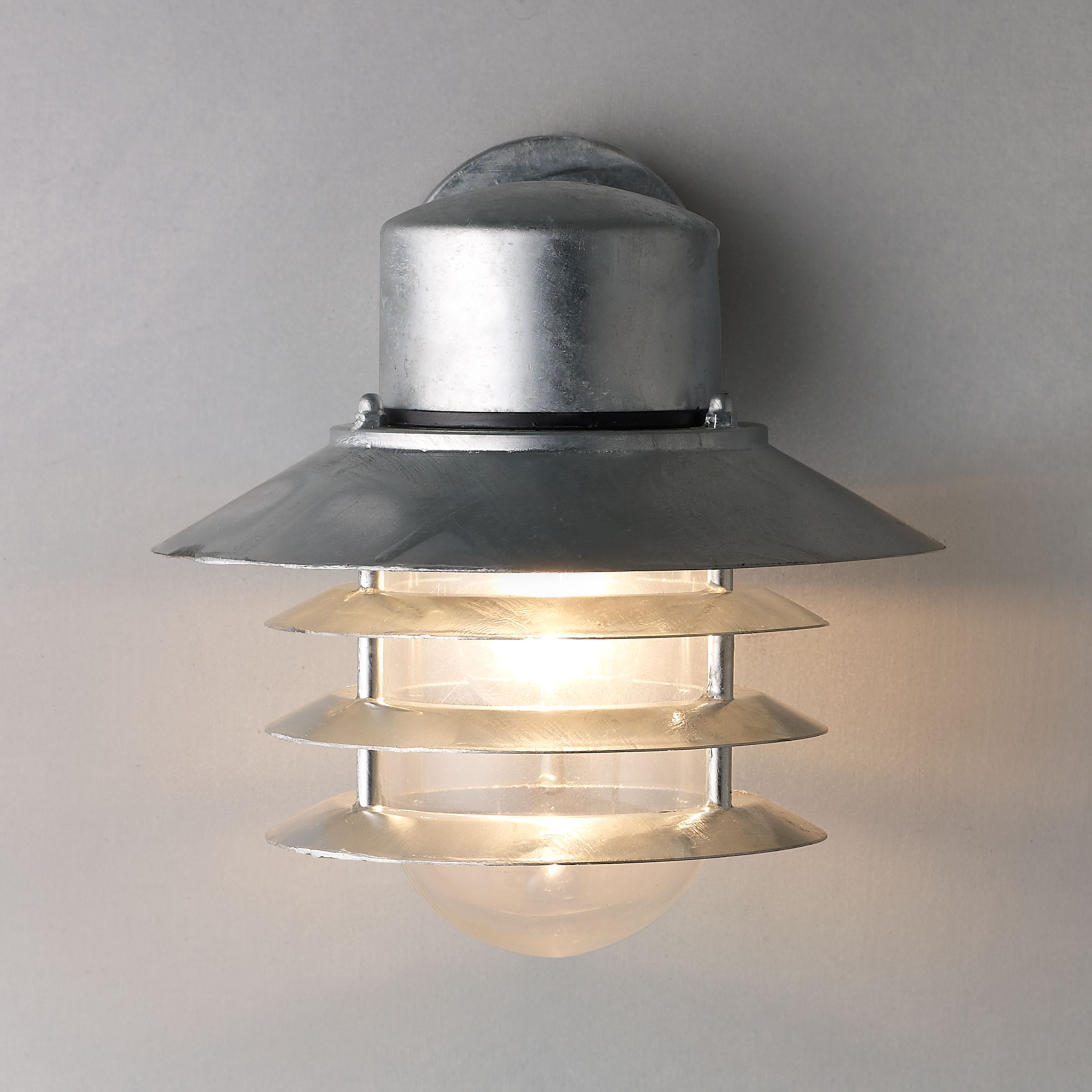 Nordlux Nordlux Vejers Outdoor Wall Light, Galvanised Steel