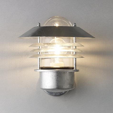 Buy Nordlux Vejers Outdoor Wall Light Galvanised Steel John Lewis