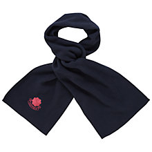 Buy Westfield School Scarf, Navy Online at johnlewis.com