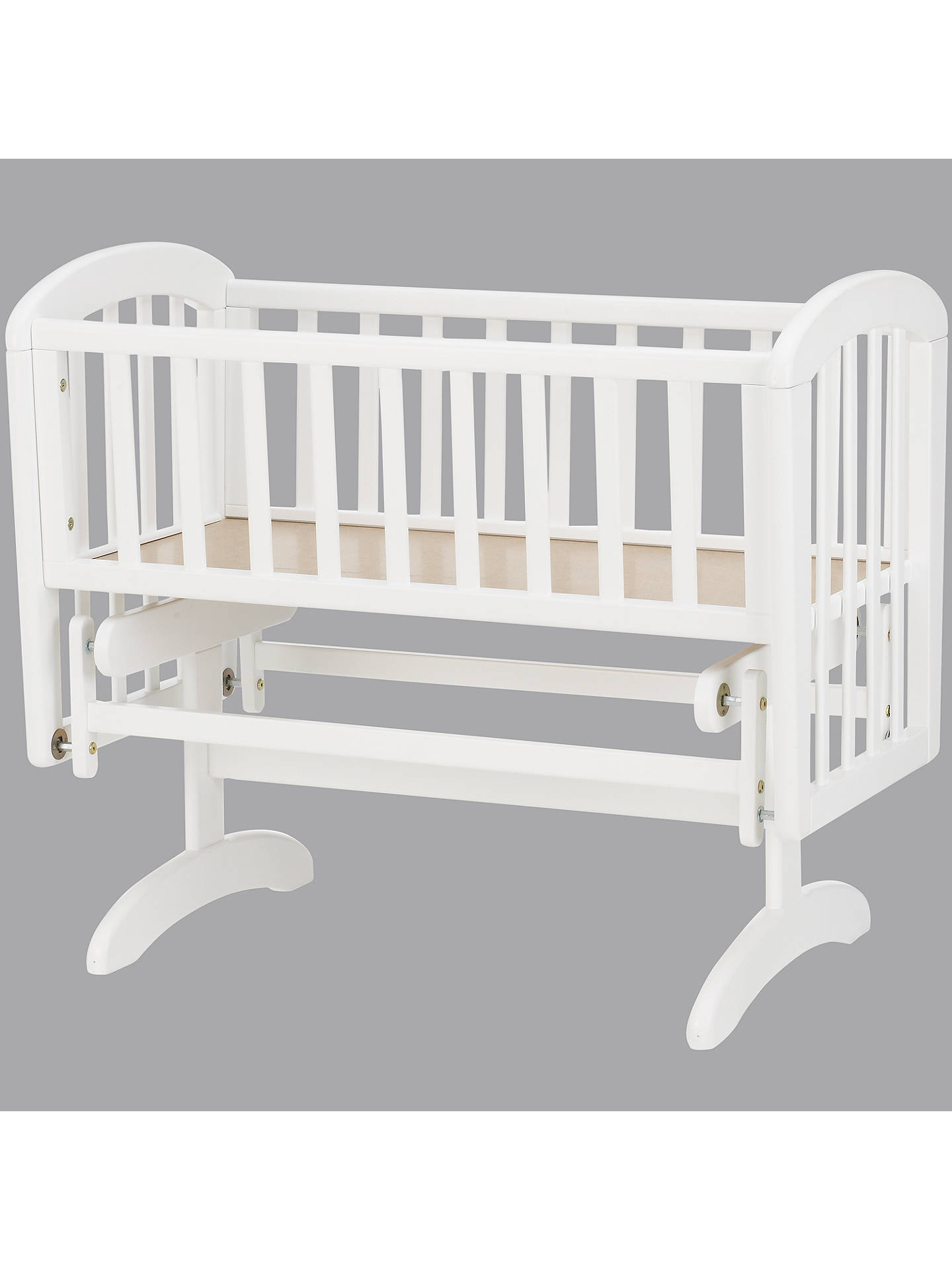 Buy John Lewis & Partners Anna Glider Crib, White Online at johnlewis.com