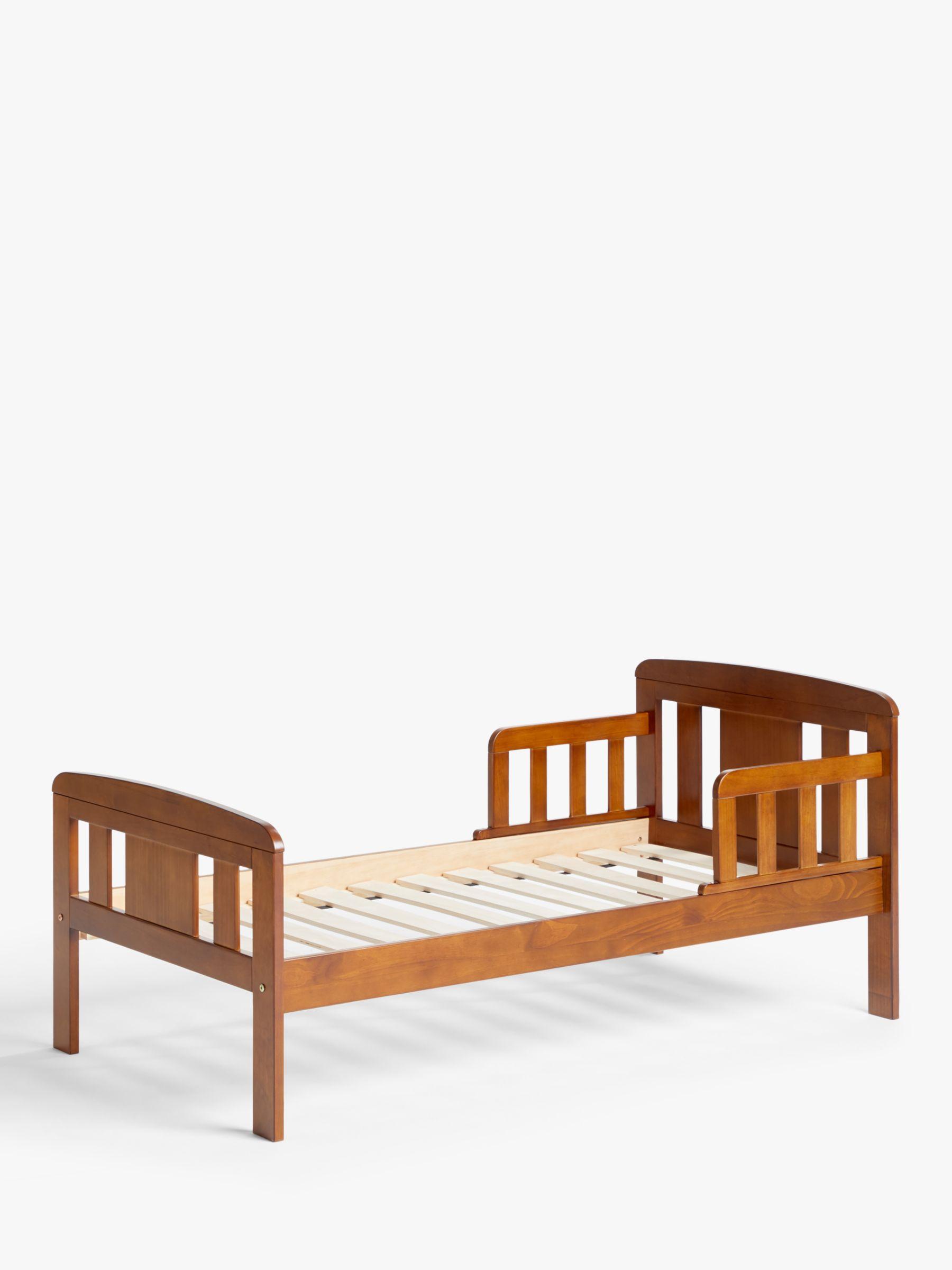 buy popular 054a2 877db John Lewis & Partners Boris Toddler Bed, Antique Darkwood