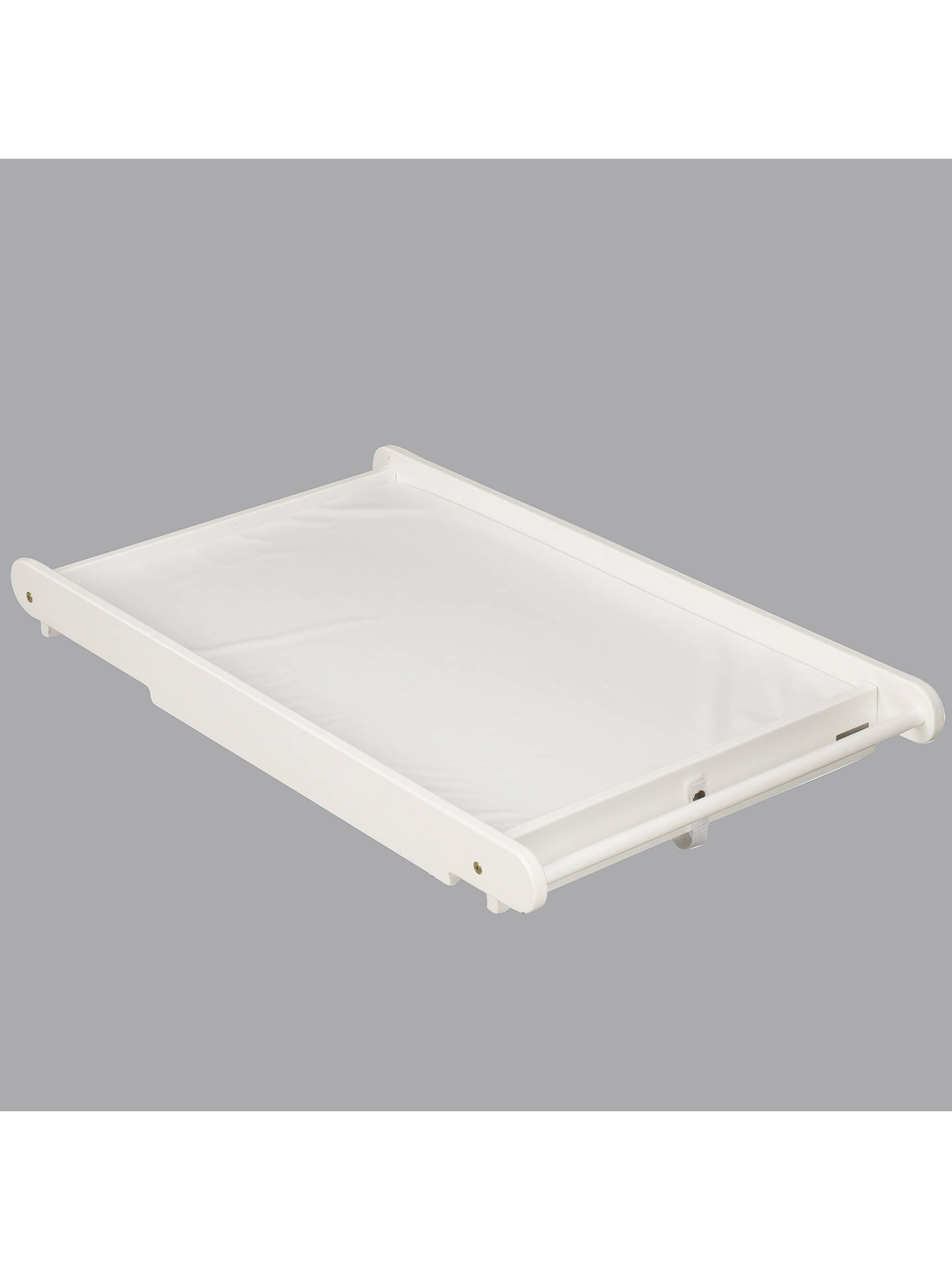 Buy John Lewis & Partners Cot Top Changer and Changing Mat, White Online at johnlewis.com