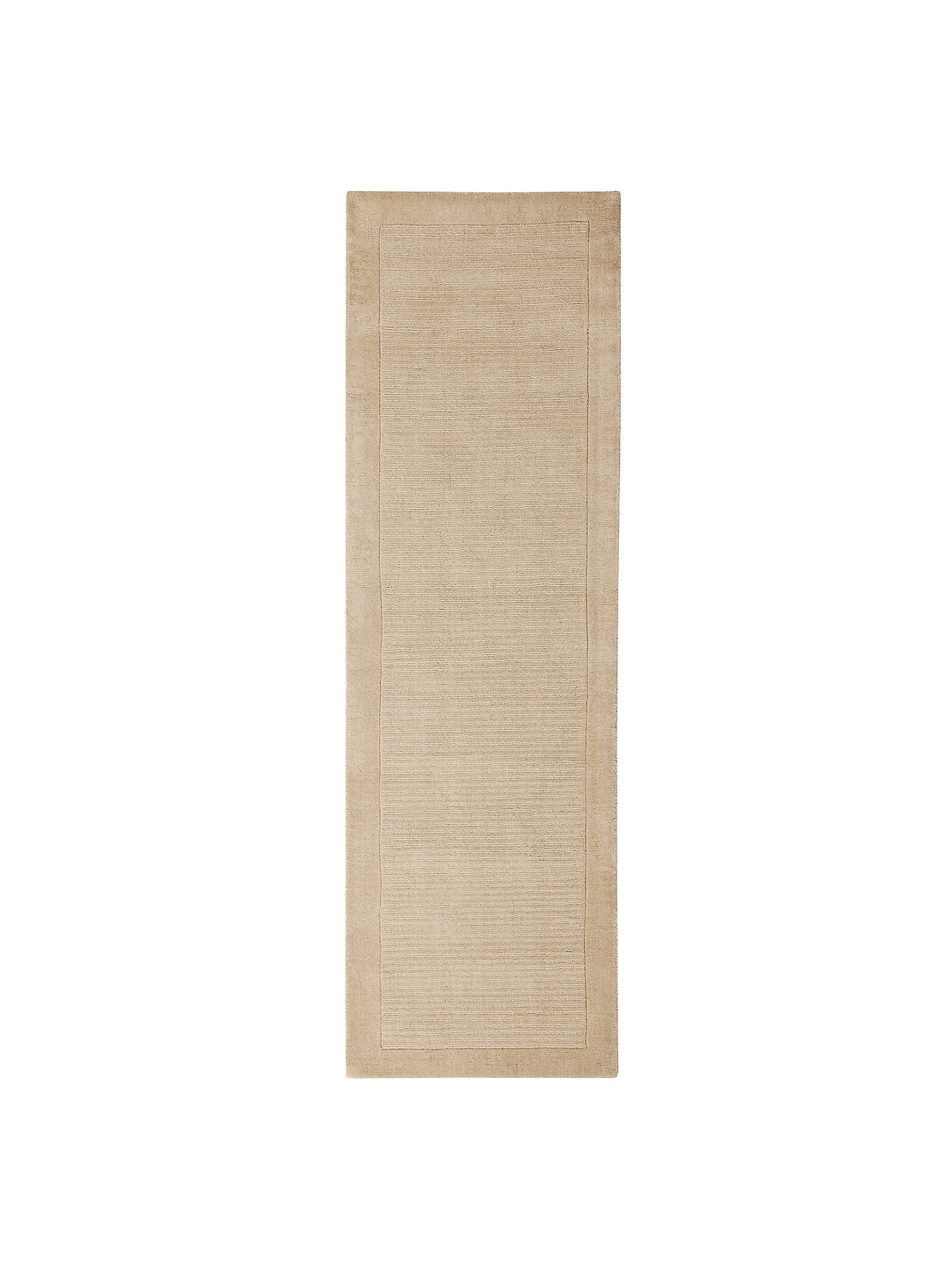 John Lewis Perth Runner Rug Cream L230 X W70cm Online At Johnlewis Com