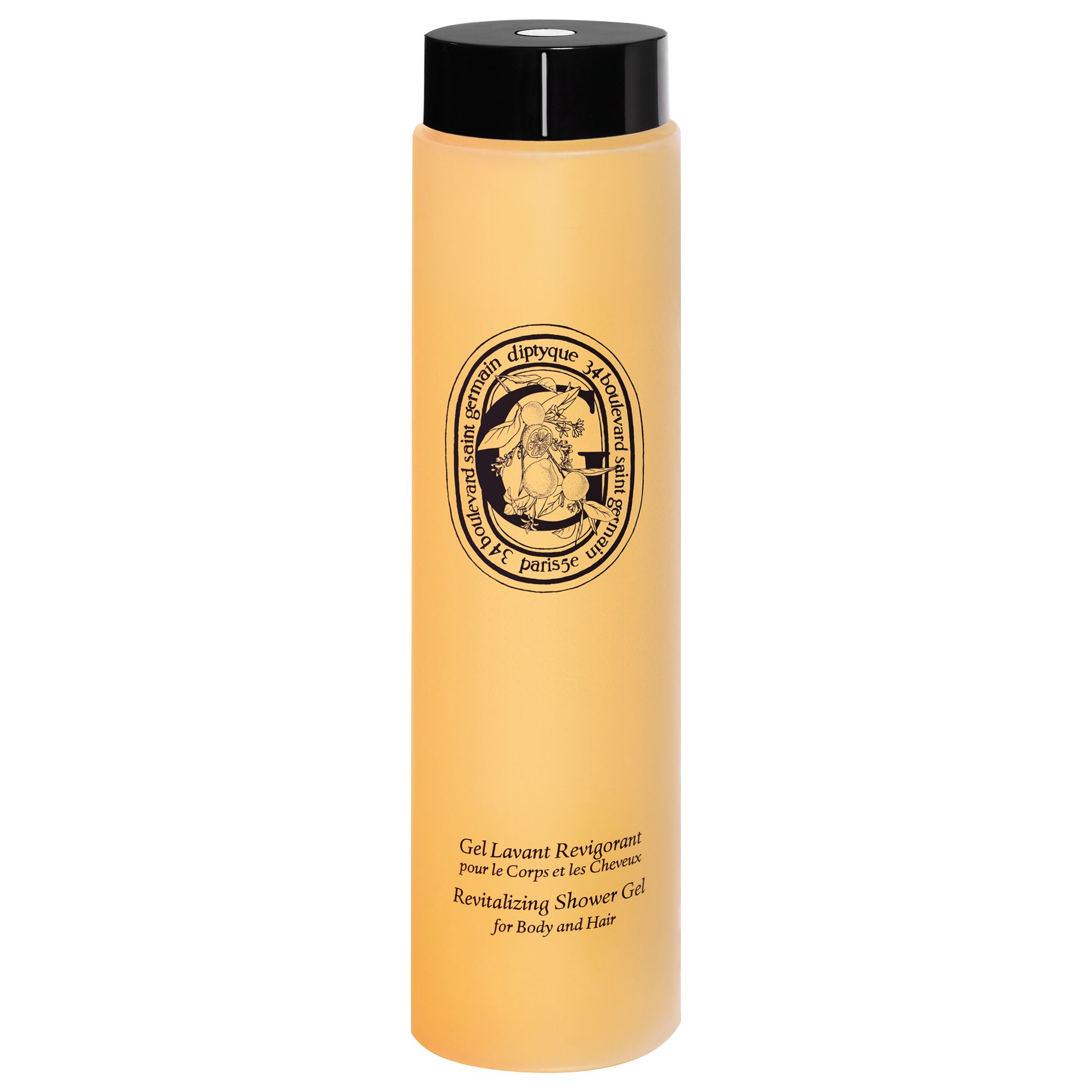 Diptyque Diptyque Revitalising Shower Gel for Body and Hair, 200ml