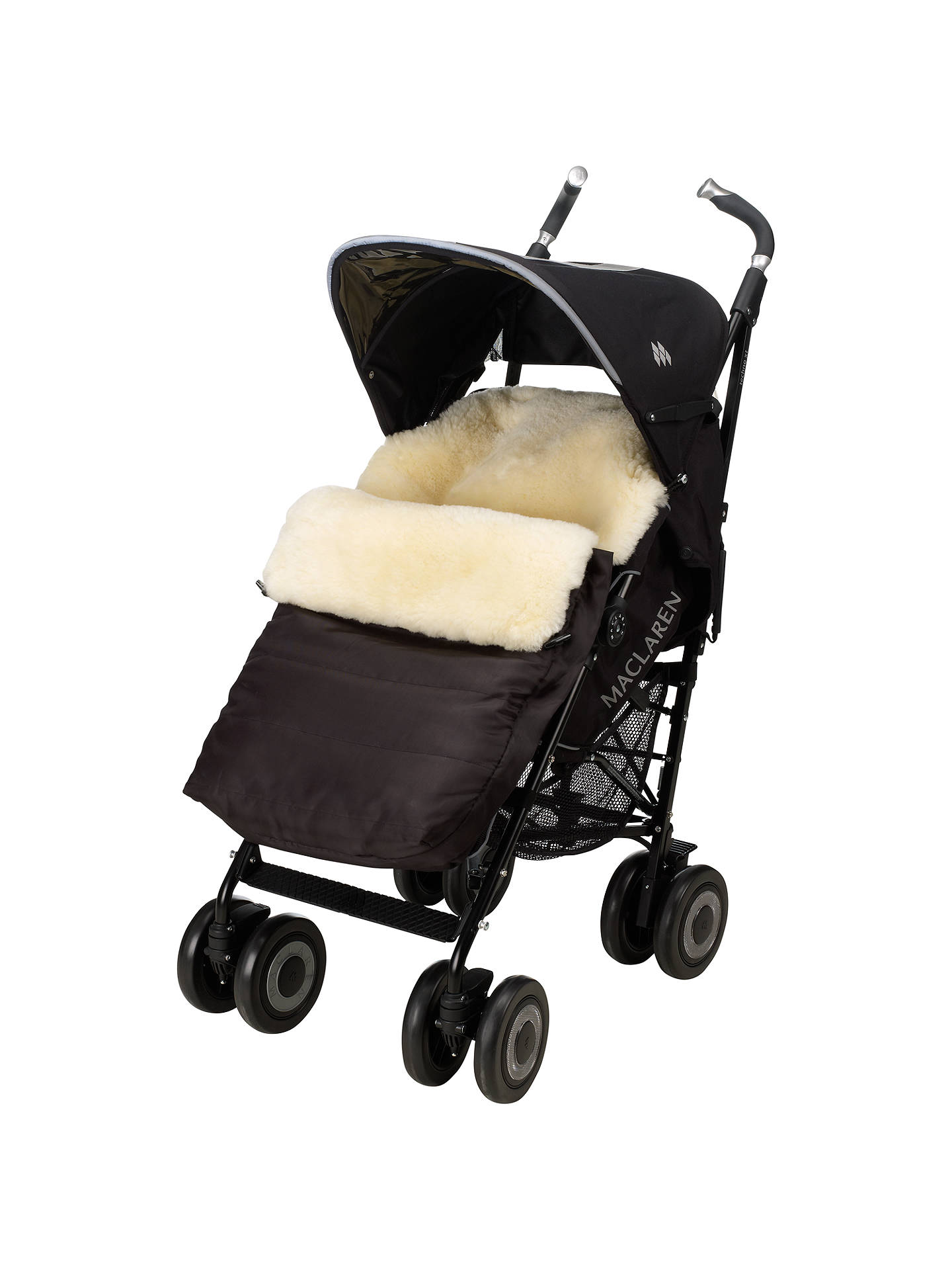 Buy John Lewis & Partners Sheepskin Footmuff Online at johnlewis.com