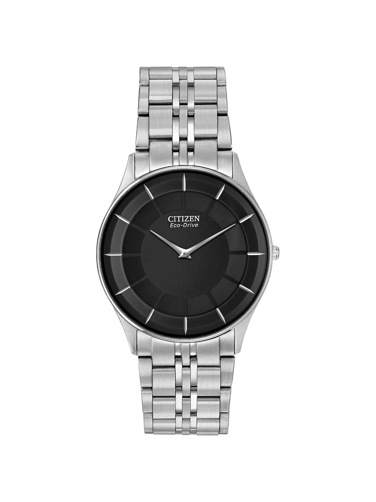 8d936d6166b Buy Citizen AR3010-57E Men s Stiletto Ultra-Slim Eco-Drive Bracelet Strap  Watch ...