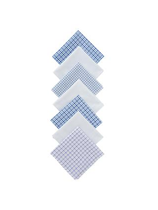 John Lewis & Partners Designer Handkerchiefs, Pack of 7, Multi