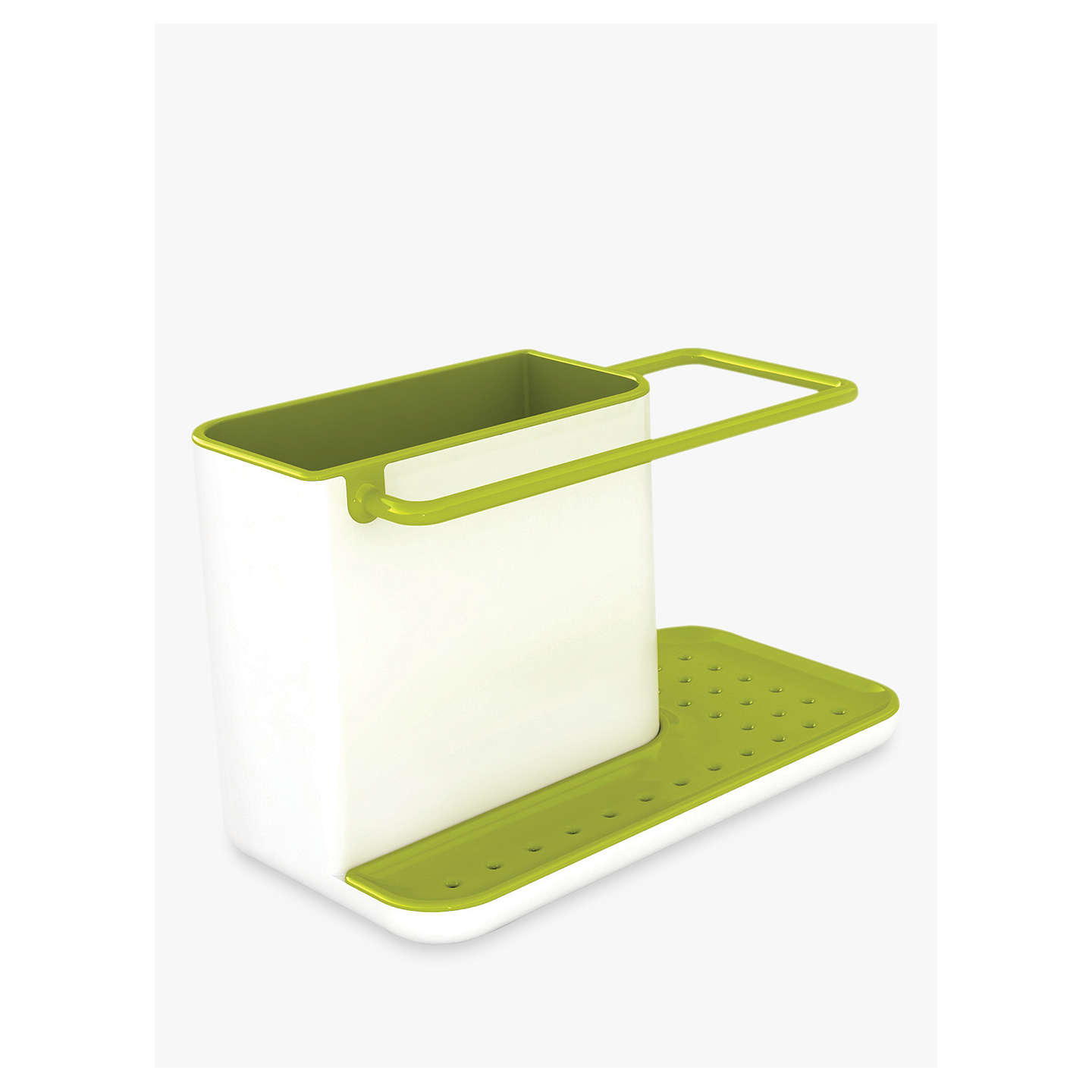 joseph joseph sink caddy white green at john lewis. Black Bedroom Furniture Sets. Home Design Ideas