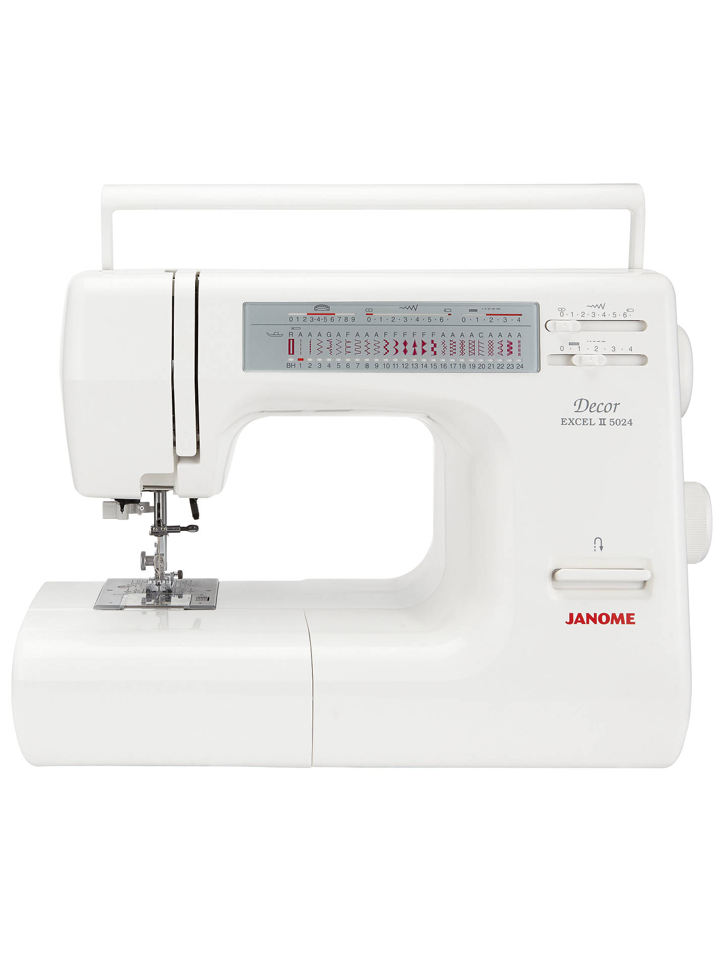 BuyJanome Excel Decor 5024 Sewing Machine Online at johnlewis.com ...