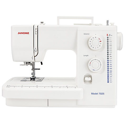 Buy Janome 7025 Sewing Machine Online at johnlewis.com