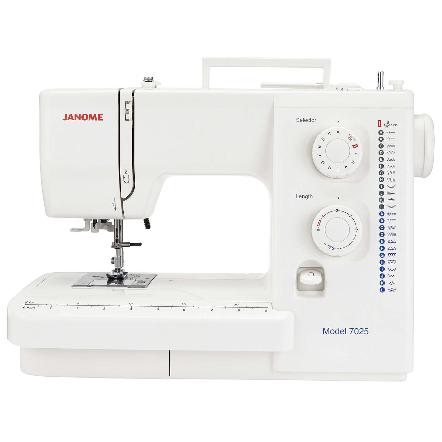 BuyJanome 7025 Sewing Machine Online at johnlewis.com