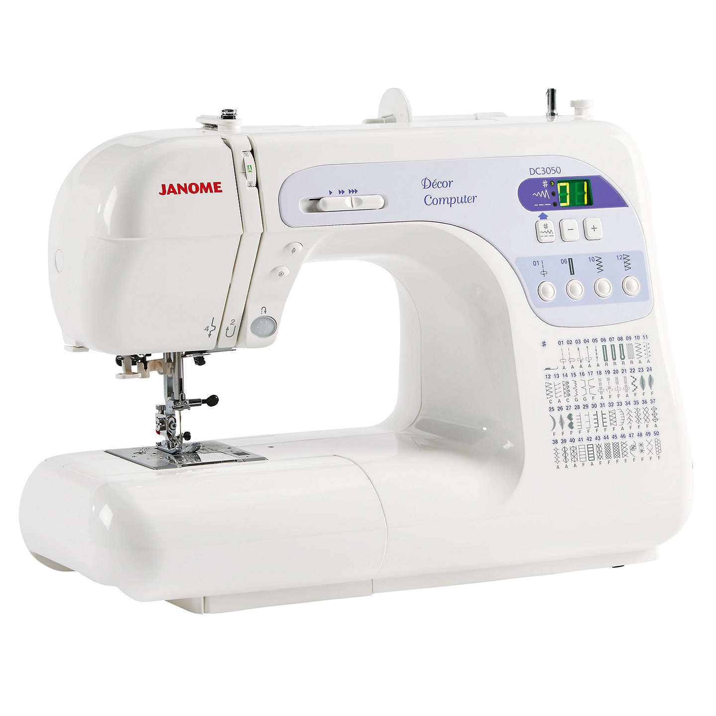 BuyJanome DC3050 Sewing Machine Online at johnlewis.com