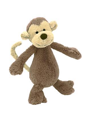 4cc3c7269d30 Jellycat Bashful Monkey Soft Toy