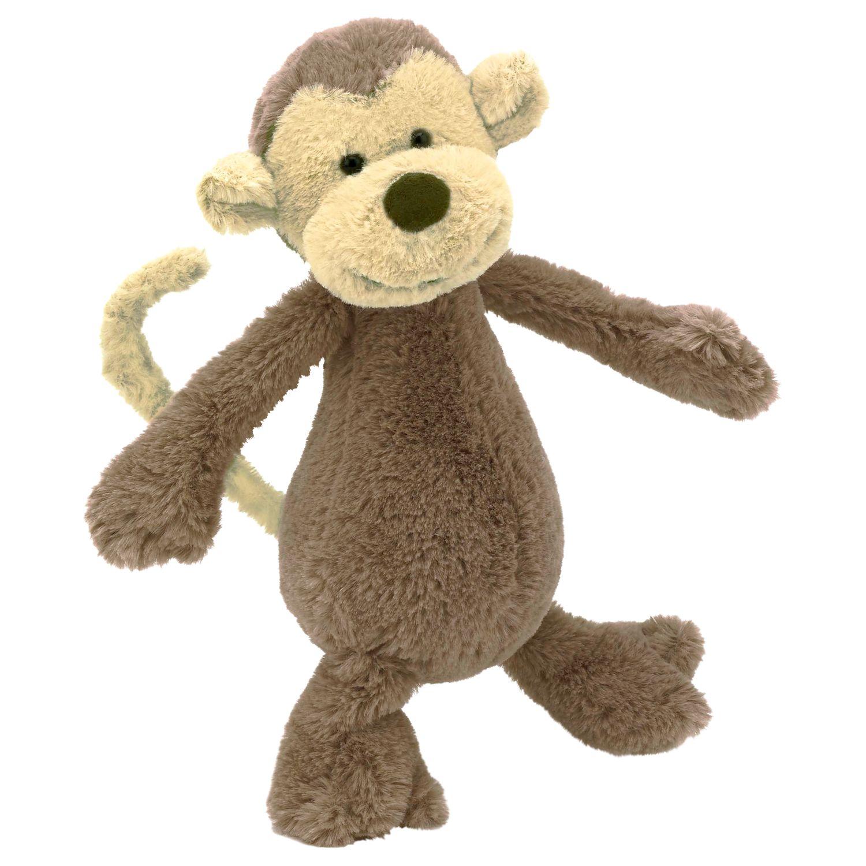 Jellycat Jellycat Bashful Monkey Soft Toy, Small