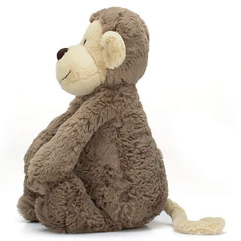 Buy Jellycat Bashful Monkey Soft Toy, Small, Brown Online at johnlewis.com