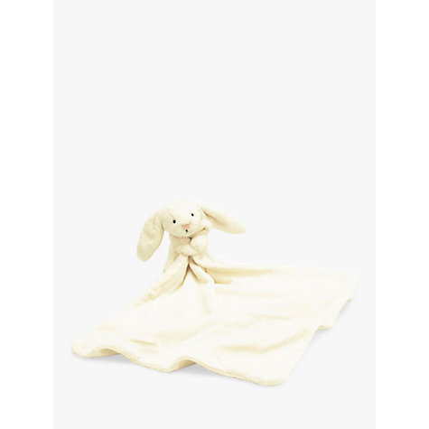 Buy Jellycat Bashful Bunny Soother Soft Toy, Cream Online at johnlewis.com