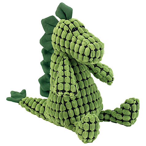 Buy Jellycat Doppy Dino Soft Toy, One Size, Green Online at johnlewis.com