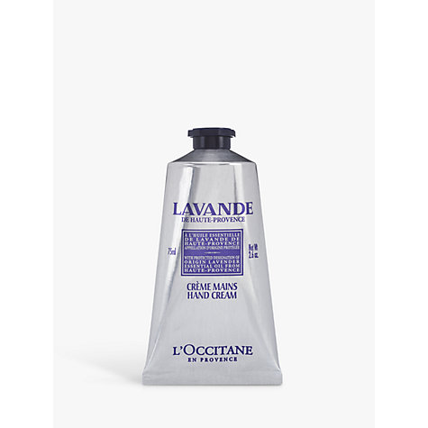 Buy L'Occitane Lavande Hand Cream, 75ml Online at johnlewis.com