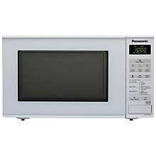 Buy Panasonic NN-E271WBPQ Microwave Oven, White Online at johnlewis.com