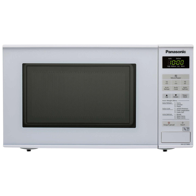 Panasonic Nn E271wmbpaq Microwave Oven White Online At Johnlewis