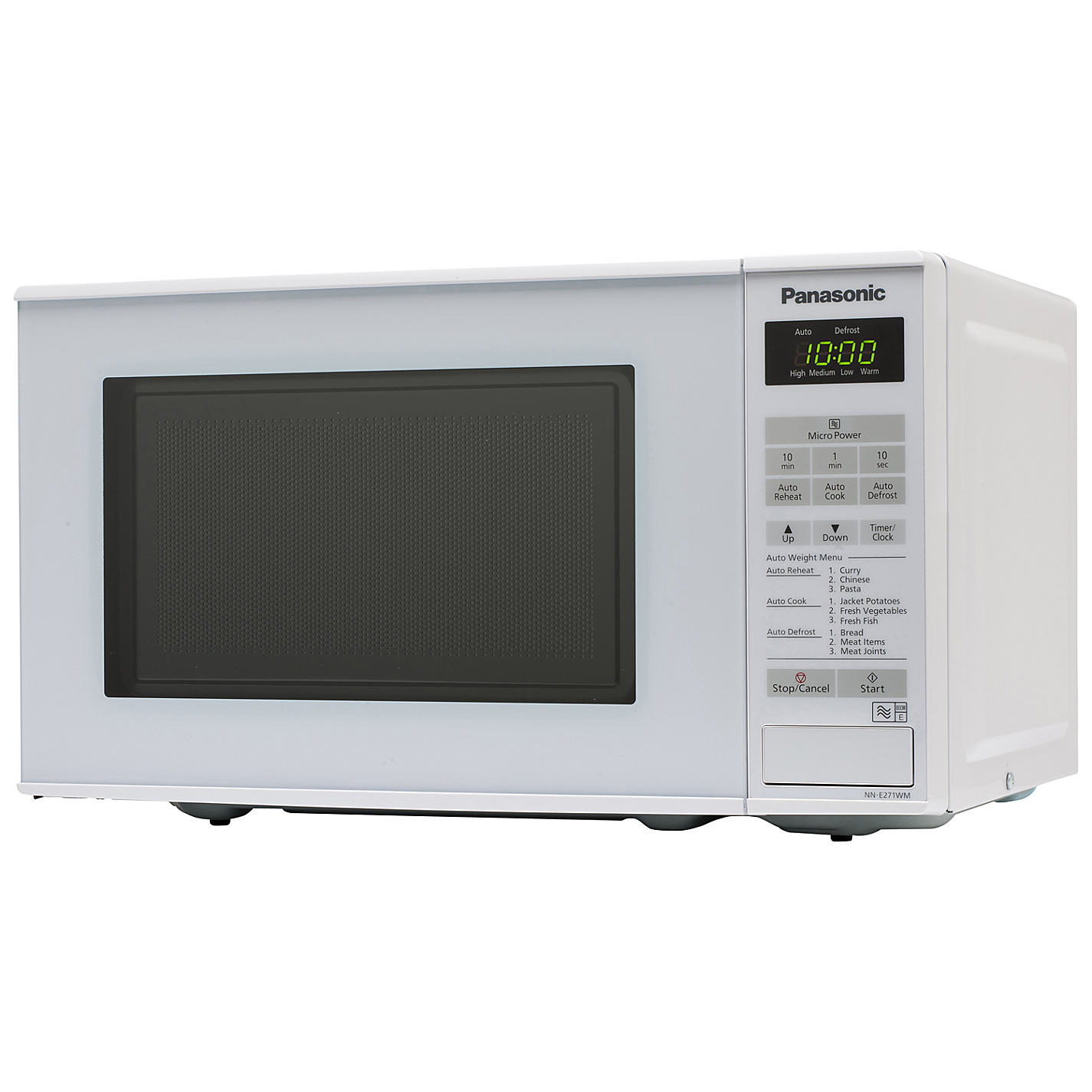 Panasonic Nn E271wmbpaq Microwave Oven White Online At Johnlewis