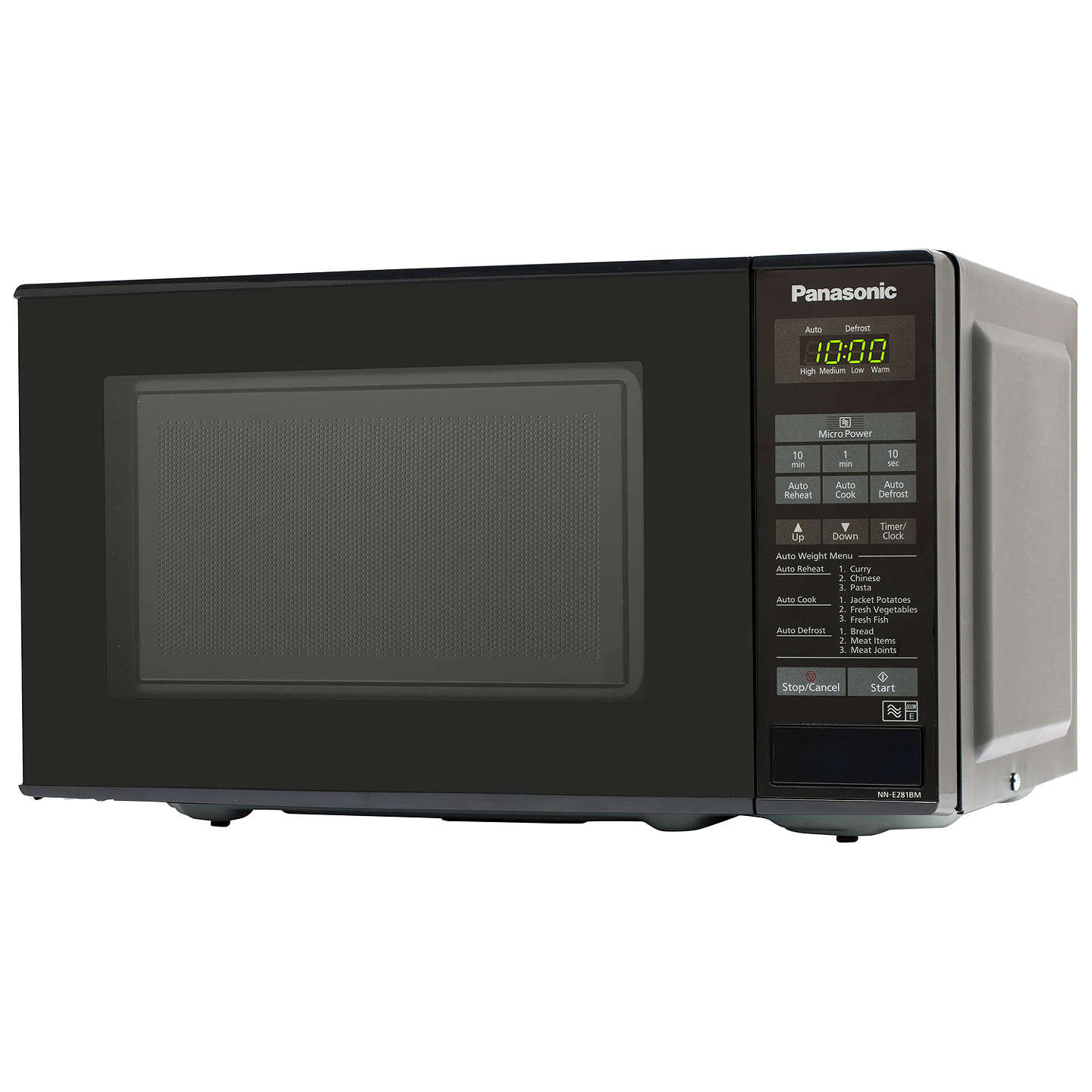 BuyPanasonic NN-E281BMBPQ Microwave Oven, Black Online at johnlewis.com