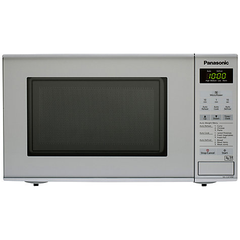 Panasonic Nn E281mmbpq Microwave Oven Silver Online At Johnlewis