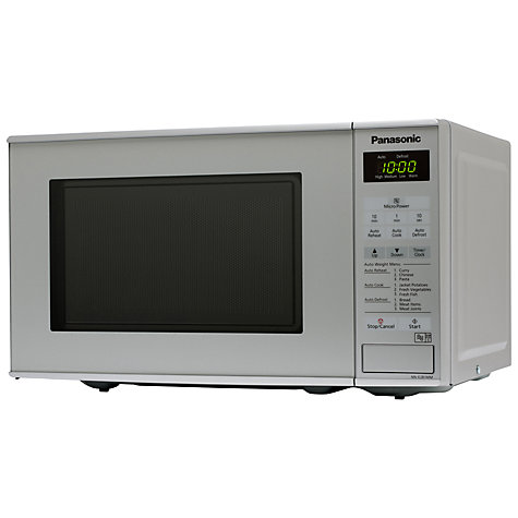Buy Panasonic NN-E281M Microwave Oven, Silver Online at johnlewis.com