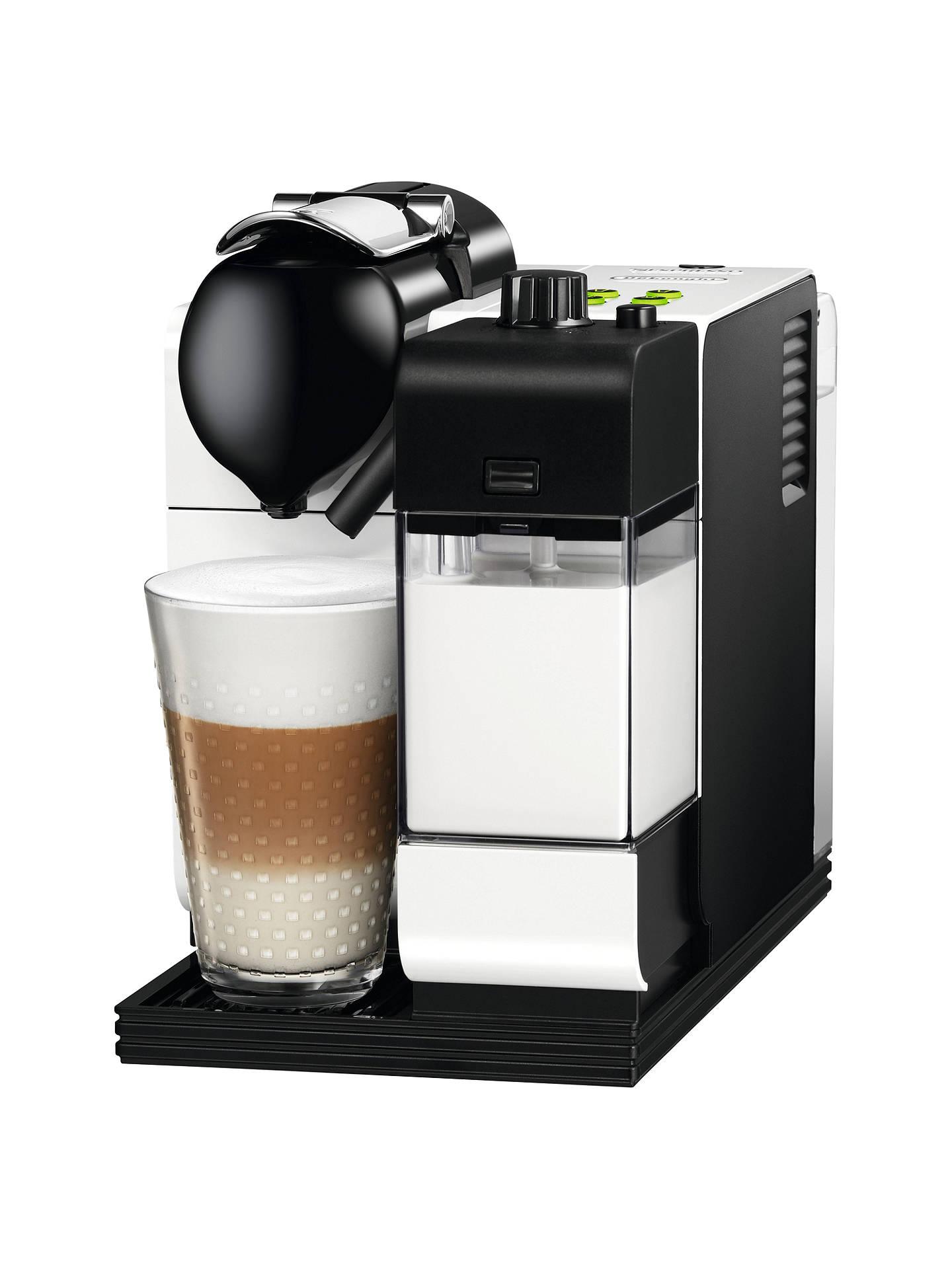 Nespresso EN520 Lattissima + Coffee Machine by De'Longhi ...
