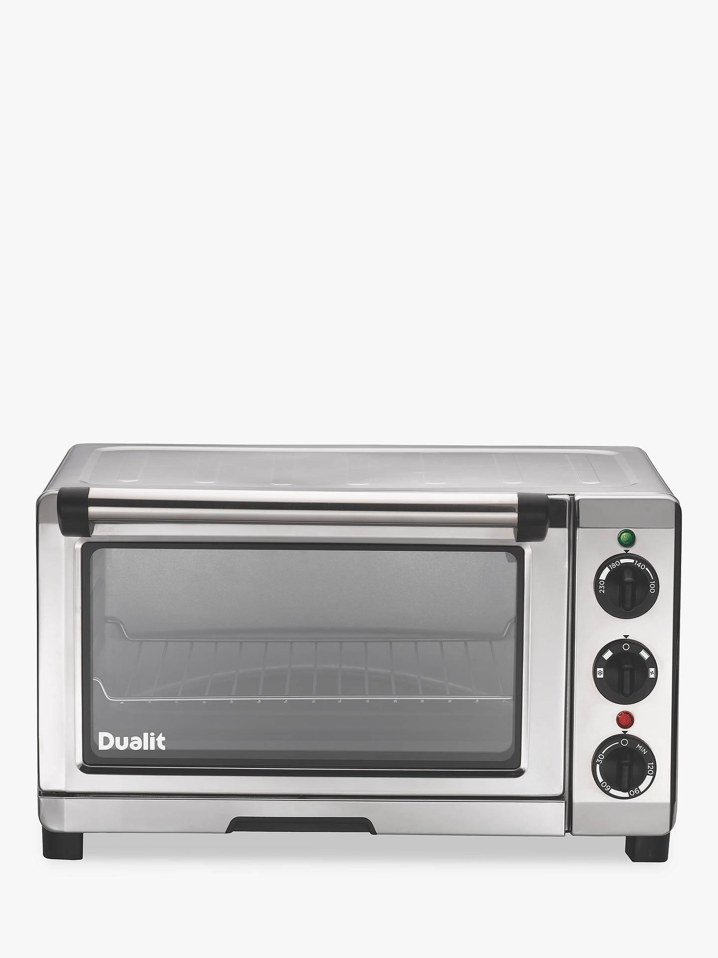 dualit 89200 mini oven chrome at john lewis partners. Black Bedroom Furniture Sets. Home Design Ideas